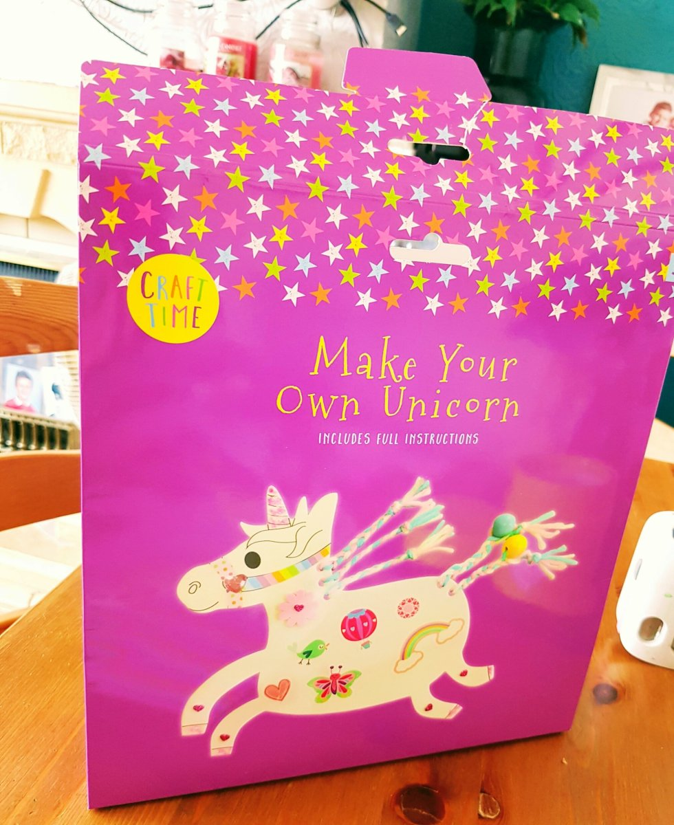 Craft time review - Make your own unicorn.