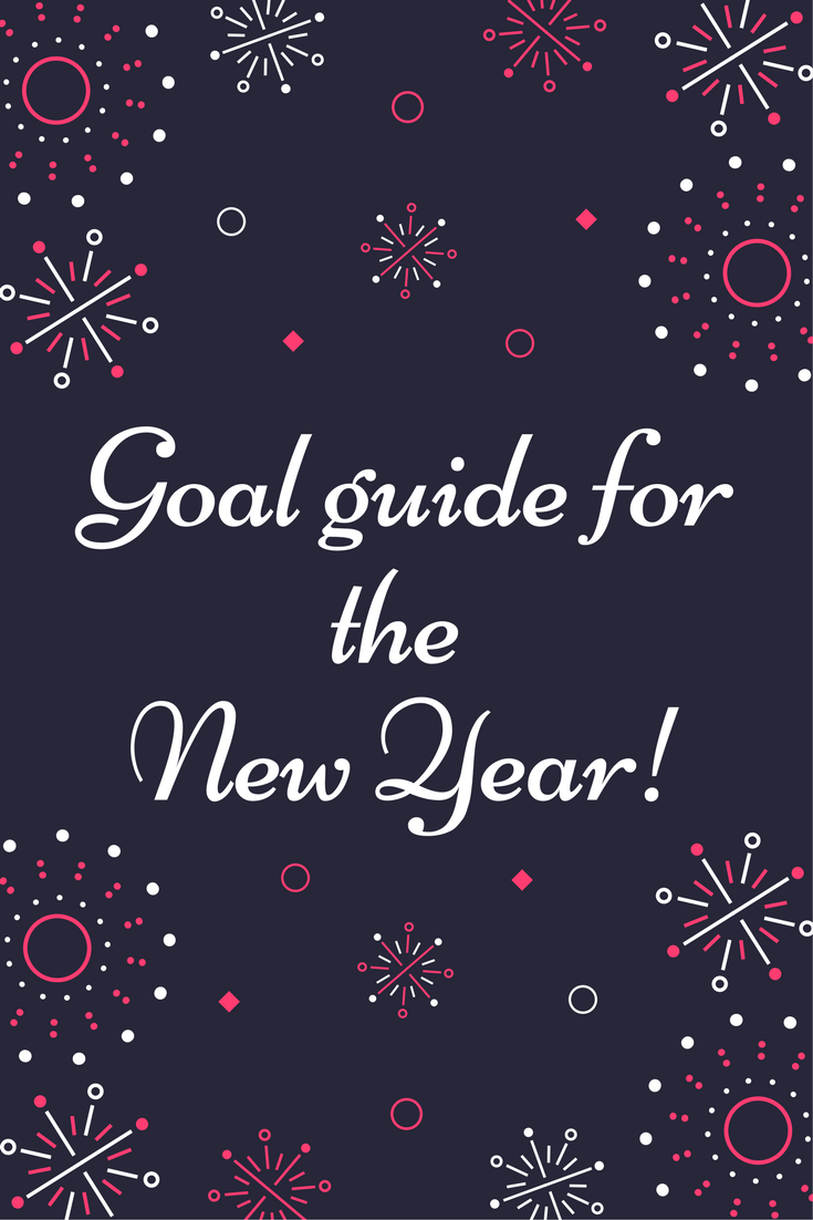 Goal guide for the new year.