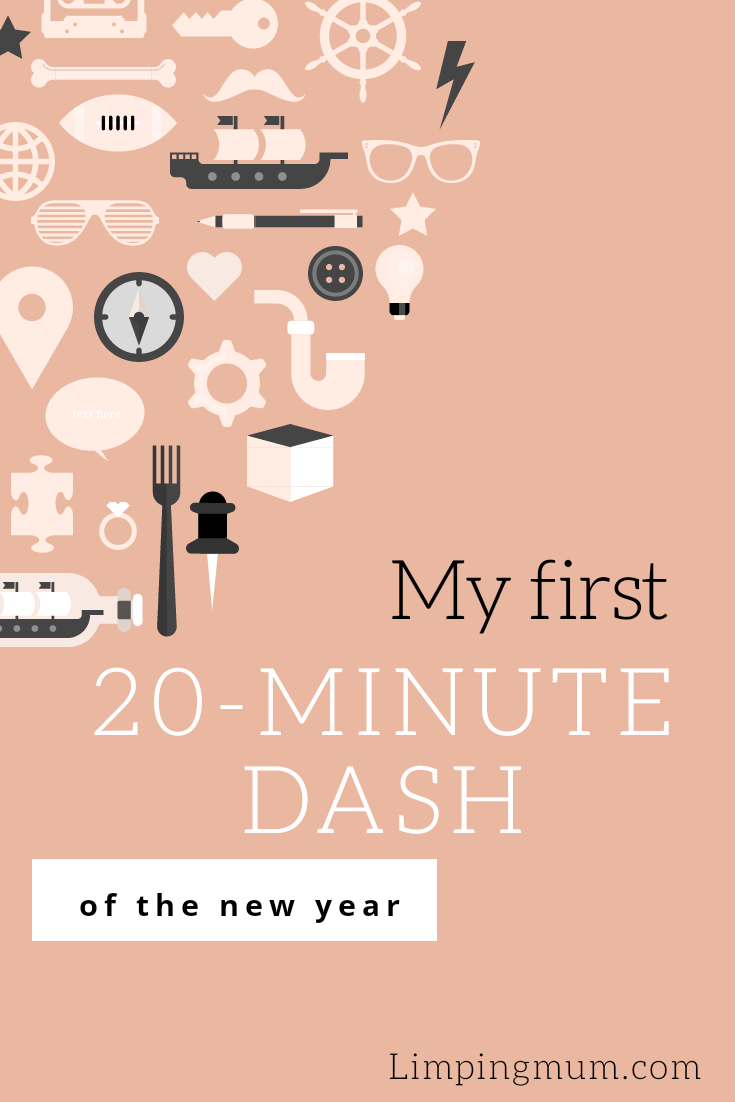 First 20-Minute Dash of the new year.